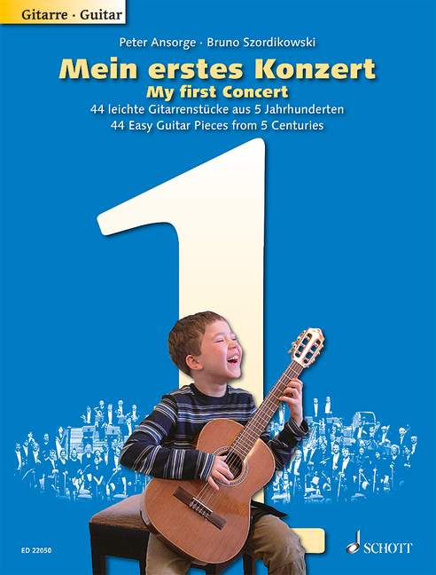 My First Concert 44 Easy Guitar Pieces from 5 Centuries guitar 9790001201551